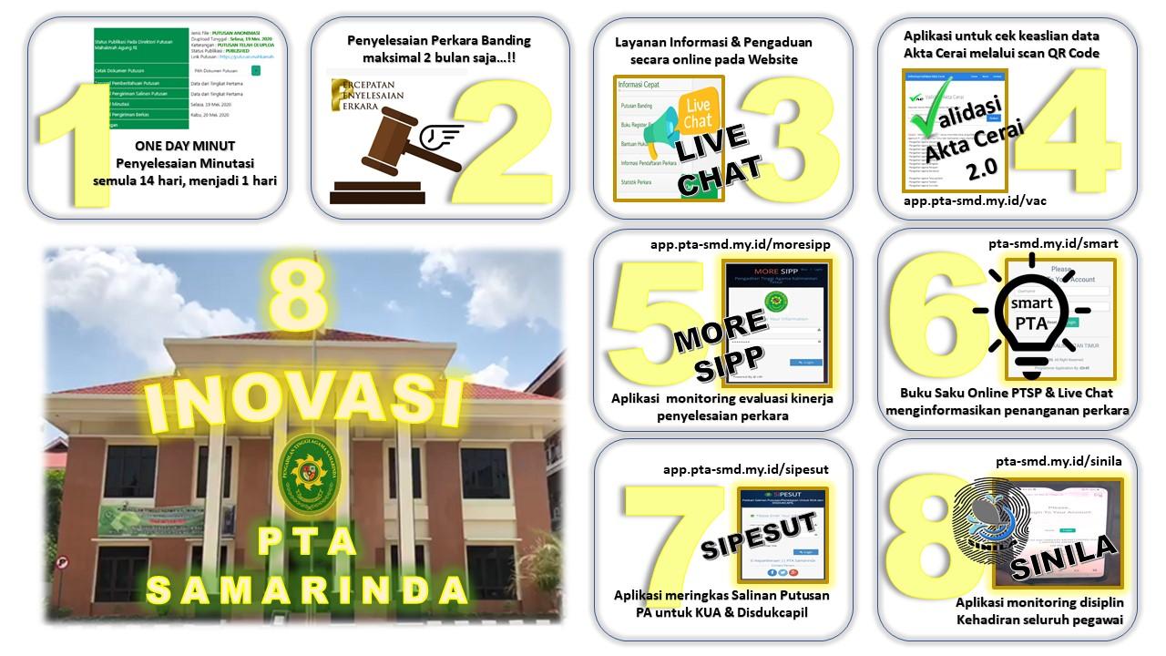 8 Inovasi PTA Samarinda
